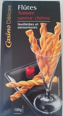 Flûtes tomate saveur chèvre - Produit - fr