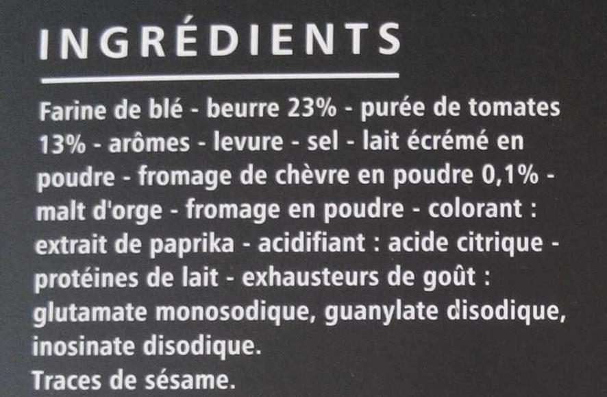 Flûtes tomate saveur chèvre - Ingrédients - fr