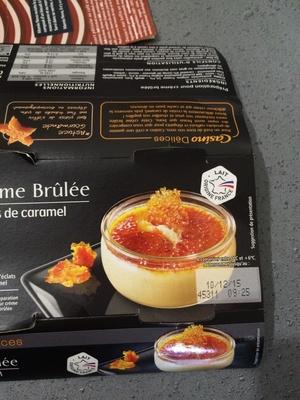 Crème brûlée - Eclats de caramel - Product