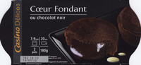 Coeur fondant - Au chocolat noir - Produit - fr