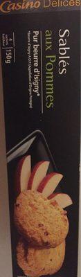 Les délicieux sablés aux pommes - Product - fr