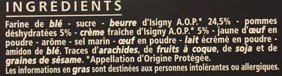 Les délicieux sablés aux pommes - Ingredients - fr