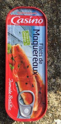 Filets de maquereaux à la sauce tomate et au basilic - Produit - fr