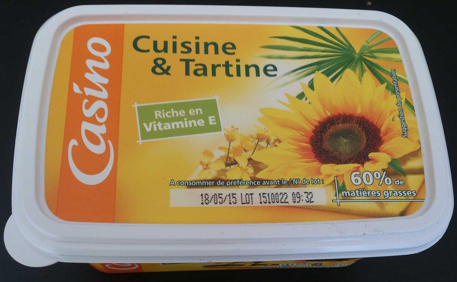 Tartine et Cuisine - 60% de matières grasses - Product - fr