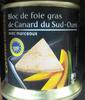 Bloc de foie gras de canard du Sud-Ouest avec morceaux - Produit