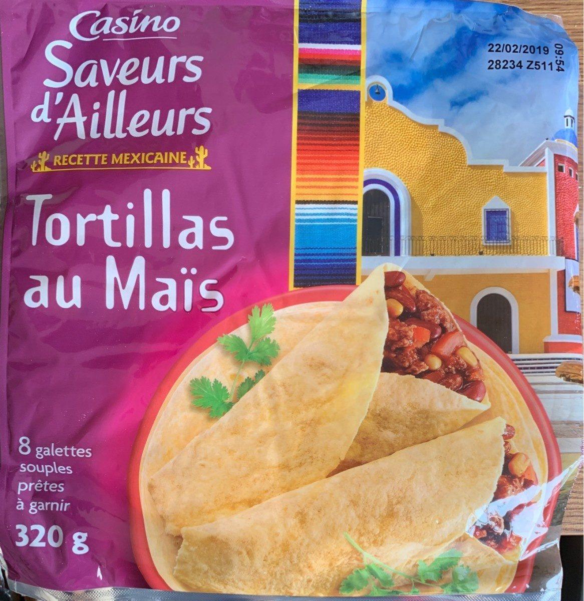Tortillas de blé et maïs Casino - Produit