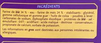 Tortillas de blé et maïs Casino - Ingrédients