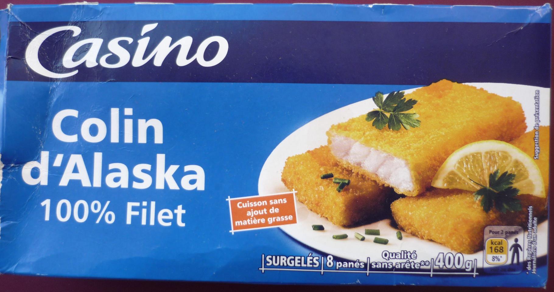 Colin d'Alaska 100 % Filet, Surgelés (8 panés) - Product