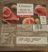 Quart de Jambon cru prétranché - Product