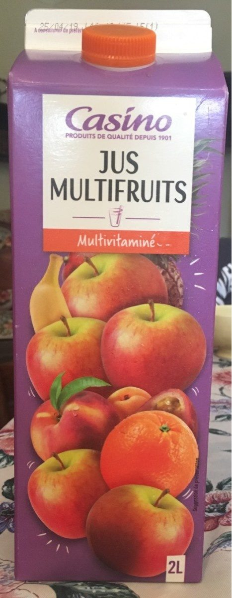 Jus Multifruits source de 5 vitamines - Product