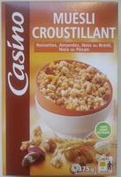 Muesli croustillant Casino - Produit - fr