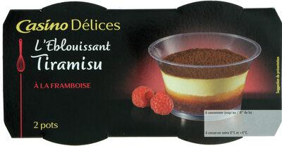 Tiramisu Framboise - Produit - fr