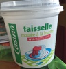 Faisselle moulée à la main 6% de matières grasses sur produit fini - Product