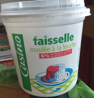 Faisselle moulée à la main 6% de matières grasses sur produit fini - Product - fr