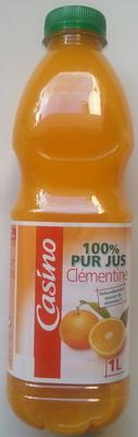 100% Pur Jus Clémentine – Naturellement source de vitamine C - Produit
