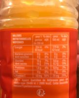 100% Pur Jus Clémentine – Naturellement source de vitamine C - Informations nutritionnelles