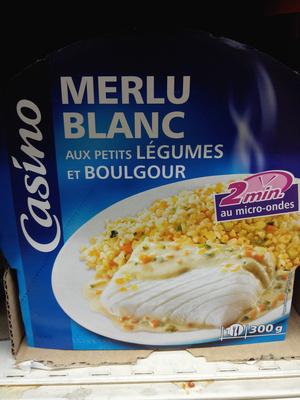 Merlu Blanc aux petits Légumes et Boulgour - Produit