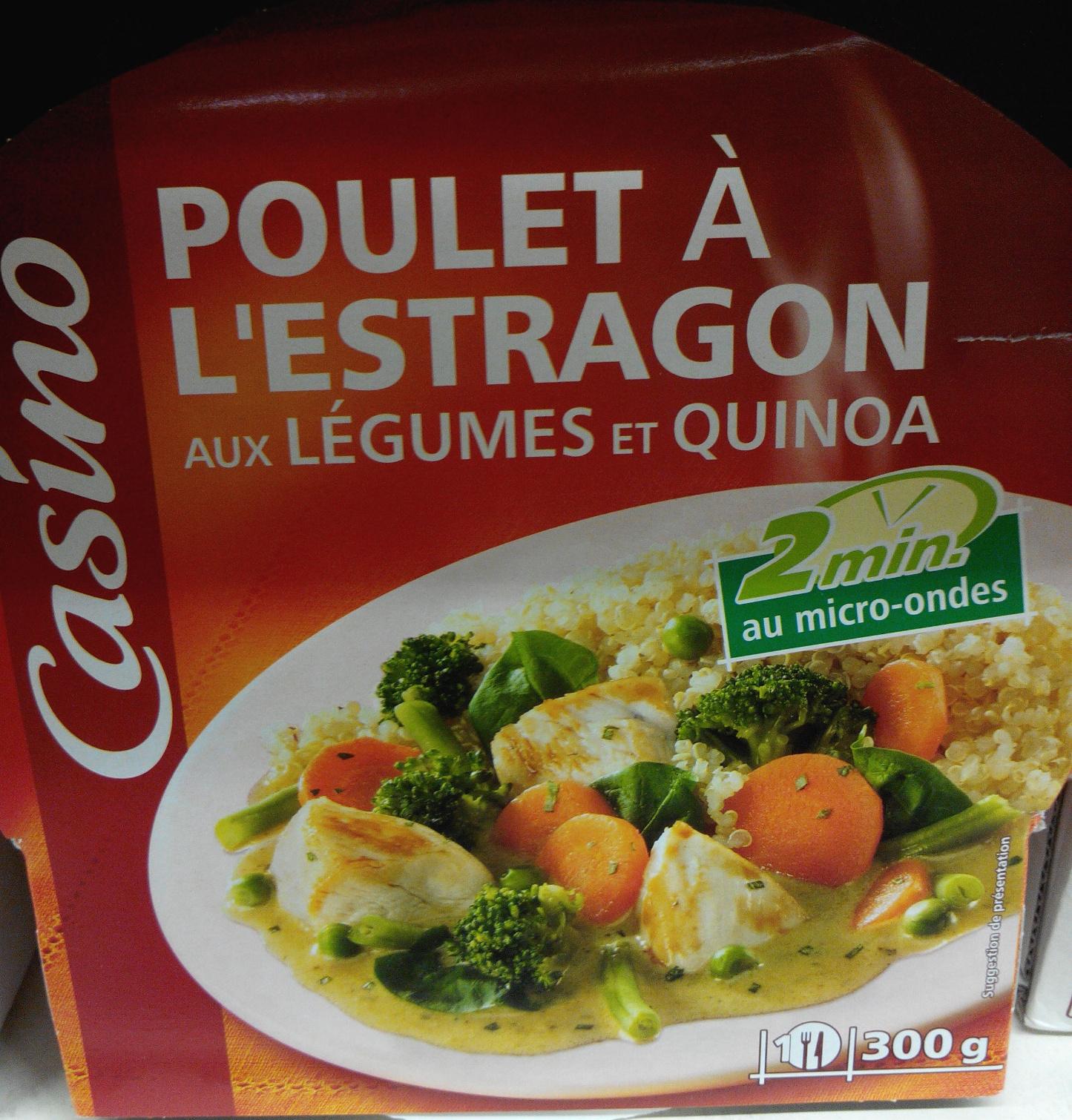 Poulet à l'Estragon aux Légumes et Quinoa - Produit - fr