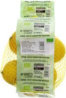 Citron jaune bio - Product - fr