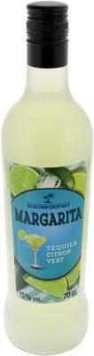 Selection cocktails - margarita - tequila - citron vert - Produit