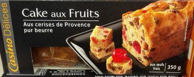 Cake aux fruits aux cerises de Provence, pur beurre - Product