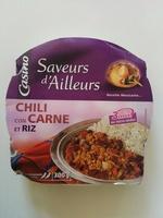 Chili con carne et riz - Product
