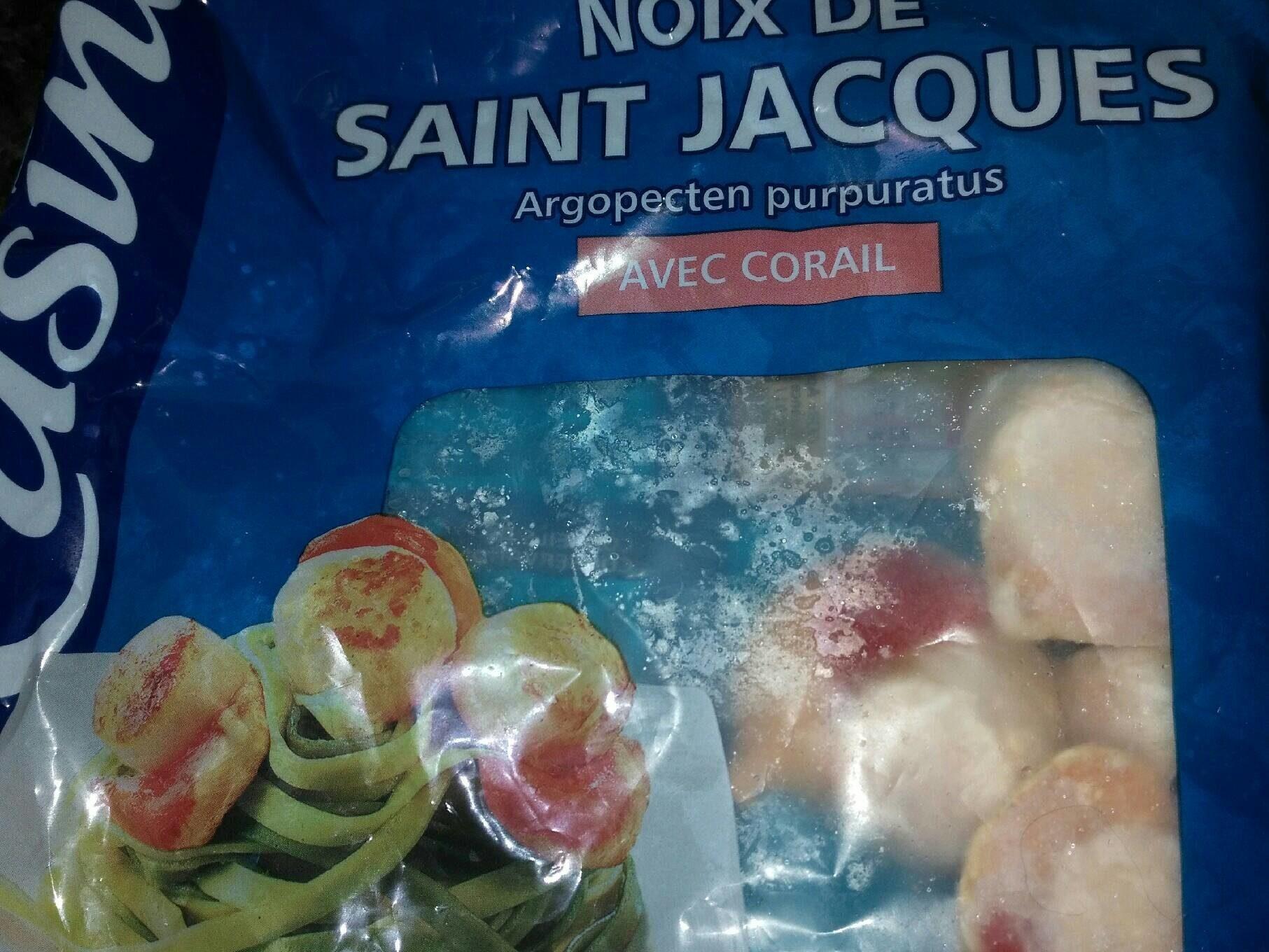 Noix de Saint Jacques avec corail - Produkt - fr
