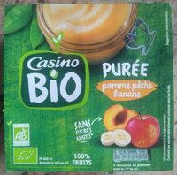 Purée pomme pêche banane - Producto - fr