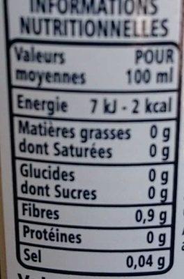 Anisé sans alcool - L'Estaque - Boisson aux extraits d'anis - Voedingswaarden - fr