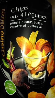 Chips aux 4 Légumes - Product