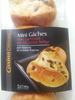 8 mini gâches aux carreaux de chocolat, au beurre et à la crème fraîche - casino delices - Product