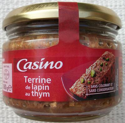 Terrine de Lapin - Produit - fr