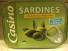 Casino sardines à l'huile d'olive vierge extra - Product