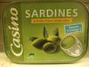 Casino sardines à l'huile d'olive vierge extra - Produit