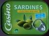Sardines à l'huile d'olive vierge extra - Produit