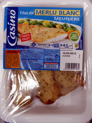 Casino filet de merlu blanc meunière - Product