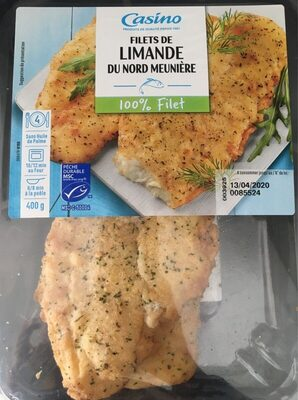 Filets de Limande du Nord Meunière - Prodotto - fr