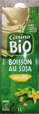 Boisson au soja à la vanille Bio Casino - Produit