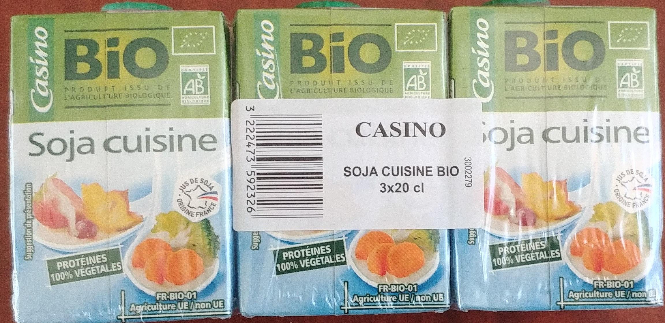 Soja cuisine BIO - Product - fr