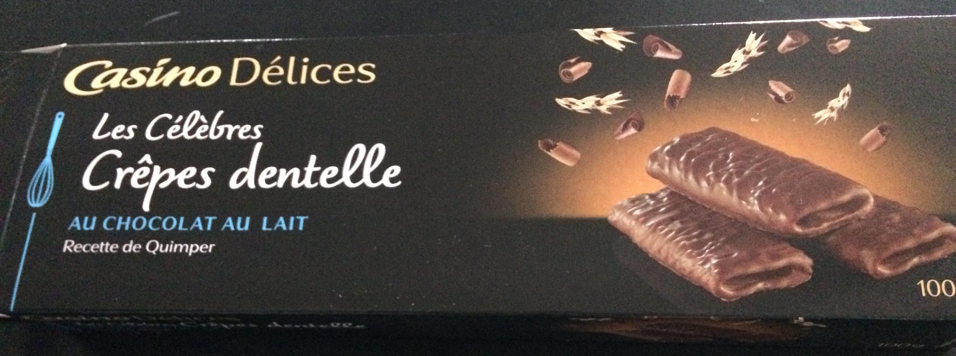Crêpes dentelle au chocolat au lait - Product - fr