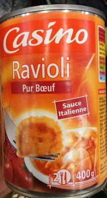 Ravioli Pur Bœuf Sauce Italienne - Produit