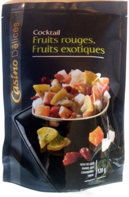 Cocktail fruits rouges, fruits exotiques - Product