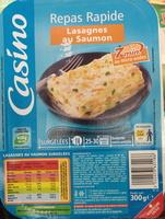 Lasagnes aux 2 saumons et aux petits légumes - Produkt