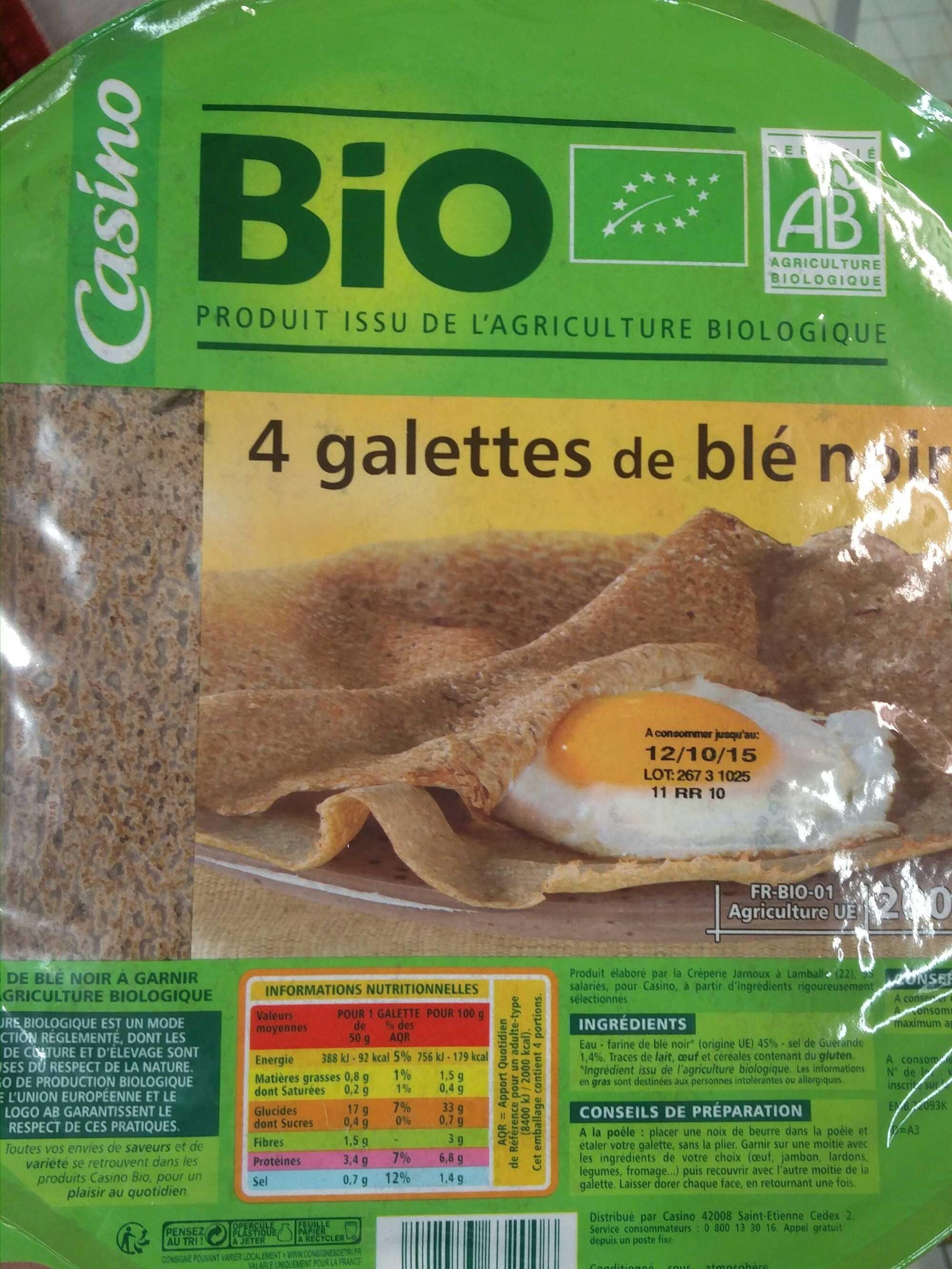 Galettes de blé noir - Product