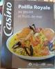 Paella au poulet et aux fruits de mer - Produit