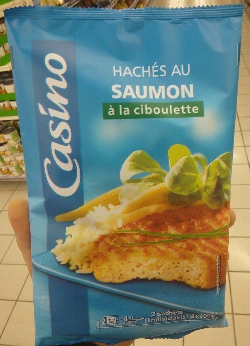 Haché au saumon à la ciboulette - Product - fr