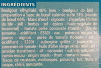 Boeuf boulgour - Ingrédients