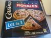 Lot de 3 pizzas royales surgelées - Produit