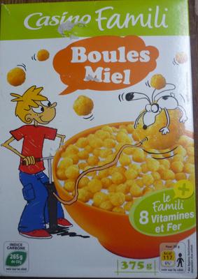 Boules Miel - Product - fr