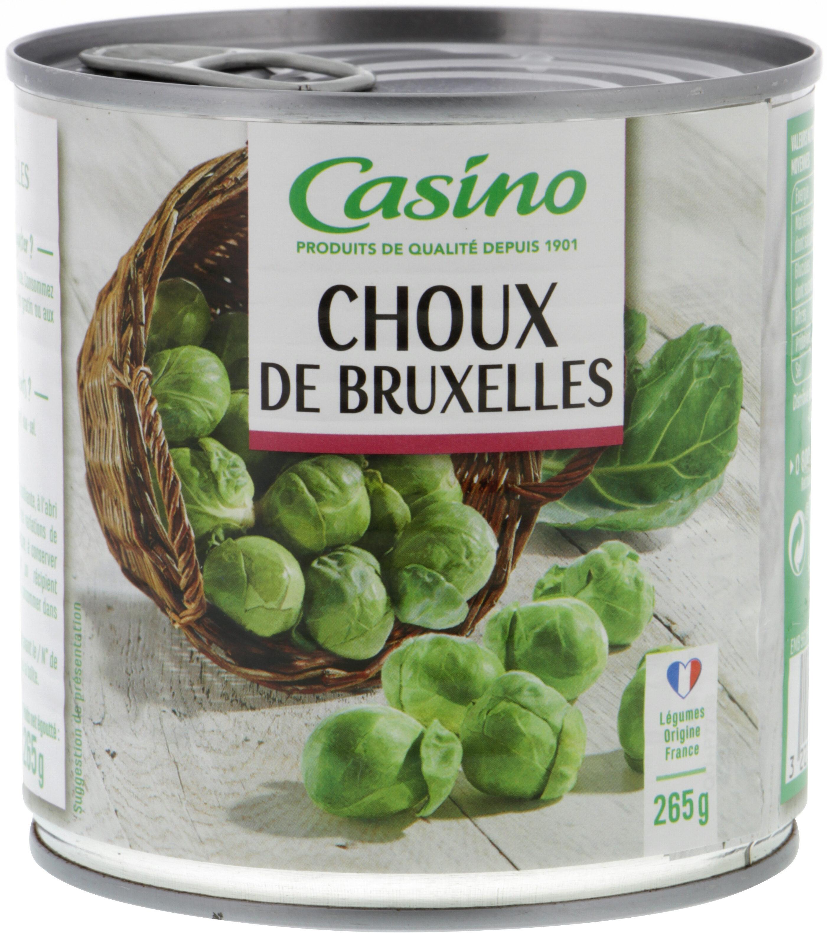 Choux de Bruxelles - Produit